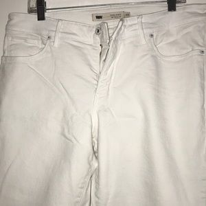 Women's 18W White Perfectly Shaping Skinny Levi's